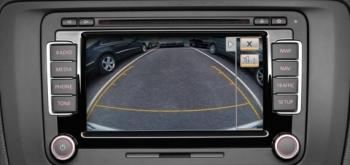 Камеры заднего вида на VW