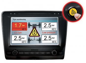 Система контроля давления в шинах TPMaster TPMS 4-01