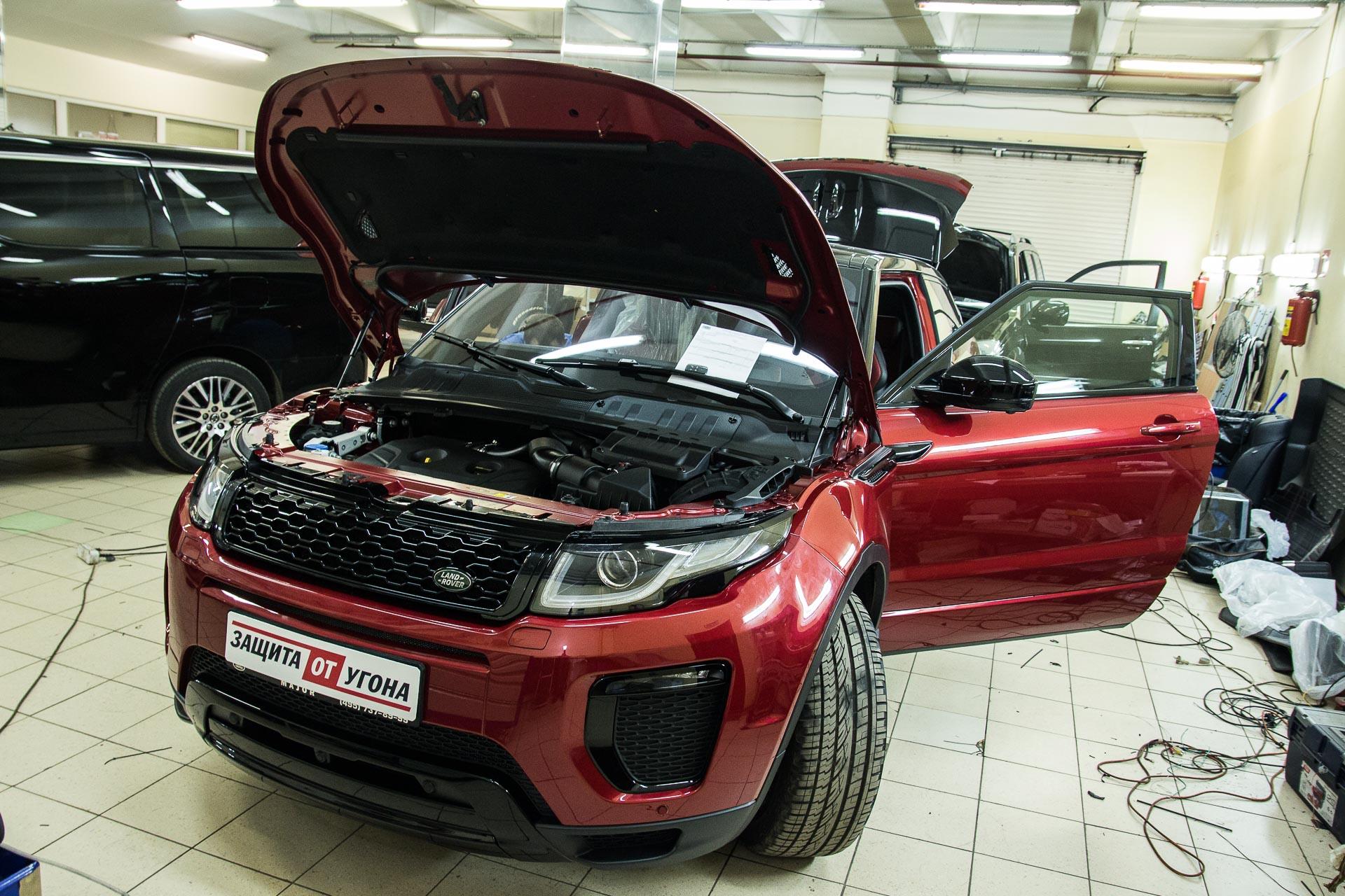 Установка автоматических доводчиков дверей на Range Rover Evoque
