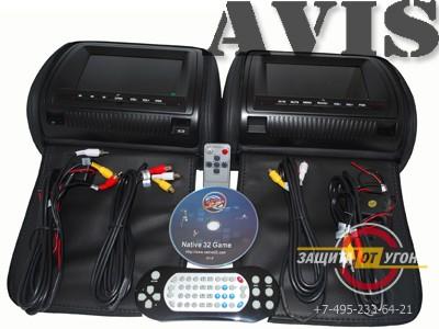 Комплект мониторов AVIS AVS0731T и AVS0732BM
