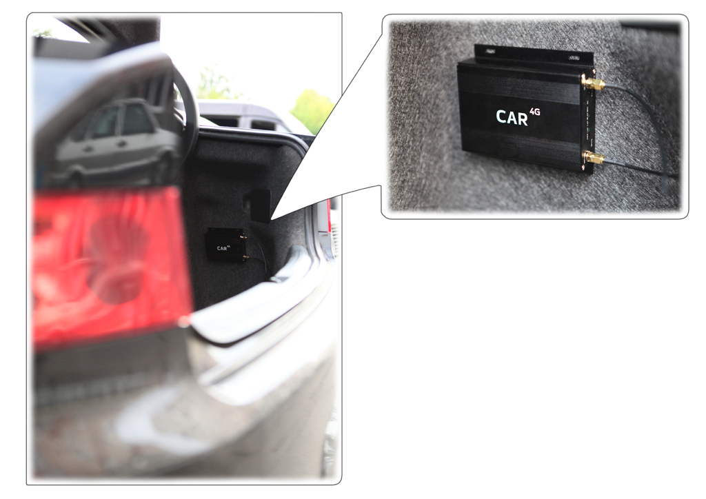 Car 4G P-Router