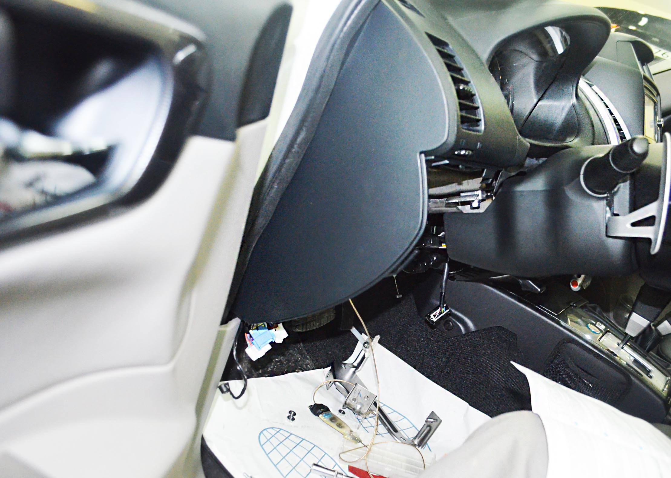 Переподключение StarLine для Mitsubishi Pajero Sport