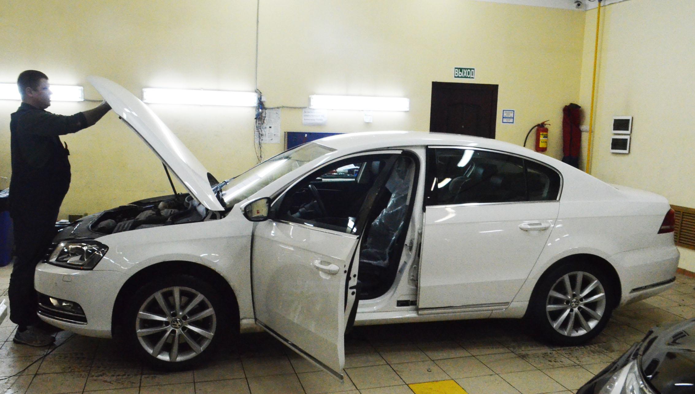 Противоугонная система Призрак 520 для Volkswagen Passat