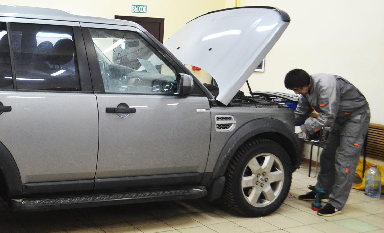 Противотуманные фары для Land Rover Discovery 3