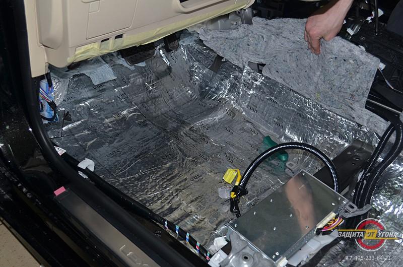 Полная шумоизоляция Lexus ES350
