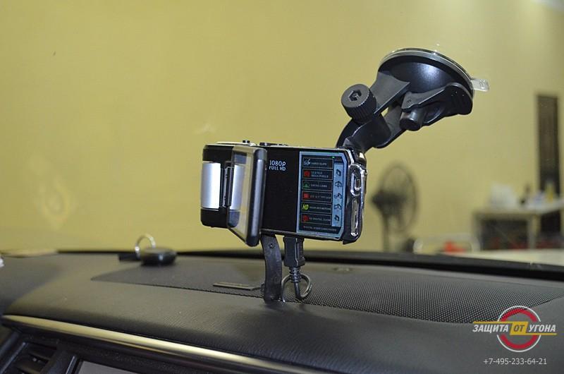 Установка цифрового тв и подключение регистратора на Infiniti QX56