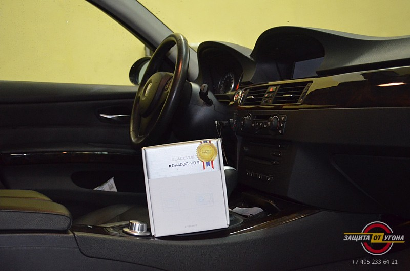 Blackvue 400 на BMW 3
