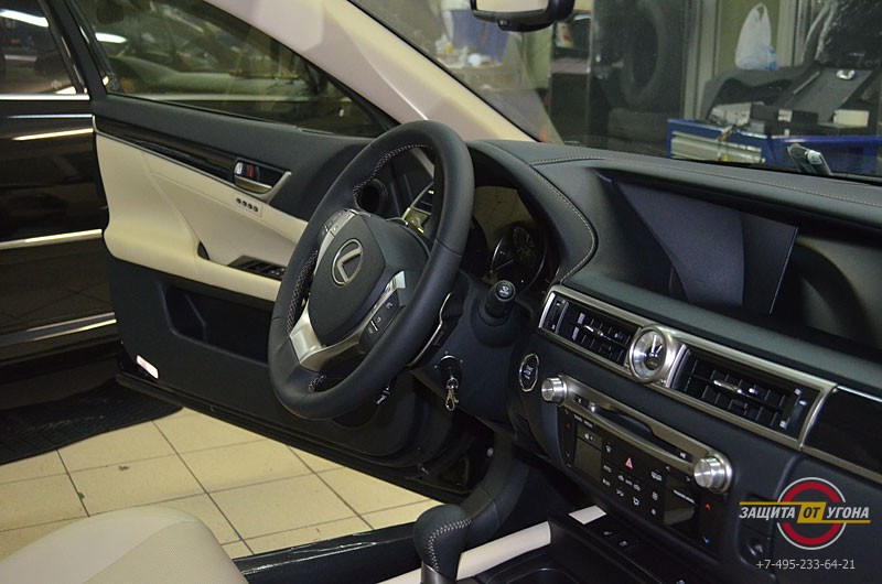 Авторская защита от угона на Lexus GS350