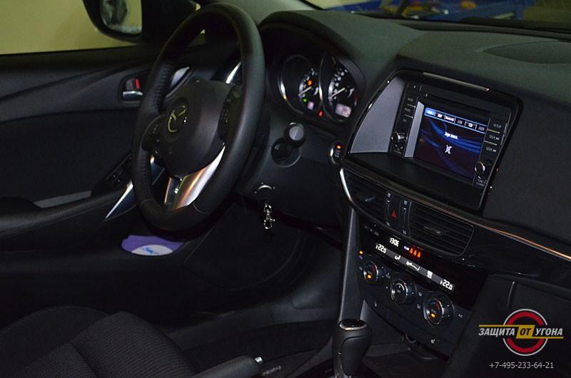 Авторская защита от угона на Mazda 6