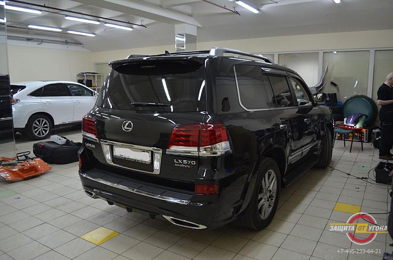 Аэродинамический обвес Khann на Lexus LX 570