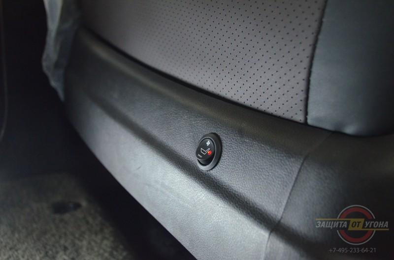 Установка вентиляции сидений на Honda Legend