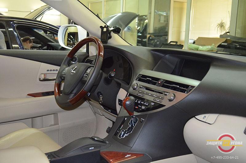 Авторская защита от угона на Lexus RX350