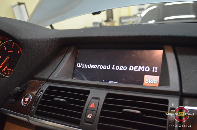 Навигационная система на Android на BMW X5