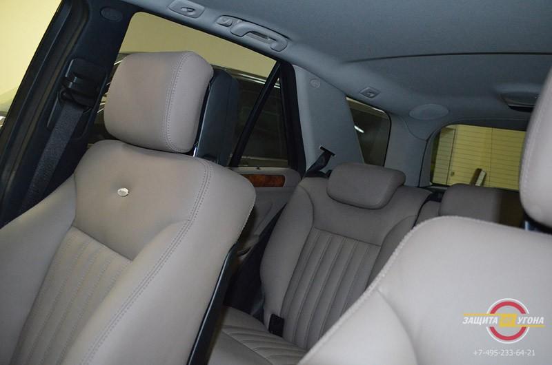 Перешив салона Mercedes ML 350