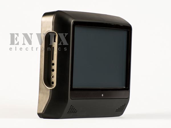 """Подголовник 9"""" с монитором и DVD ENVIX"""