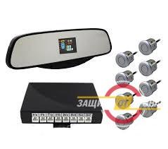 Парковочный радар Silver Star 8 датчиков LED-027