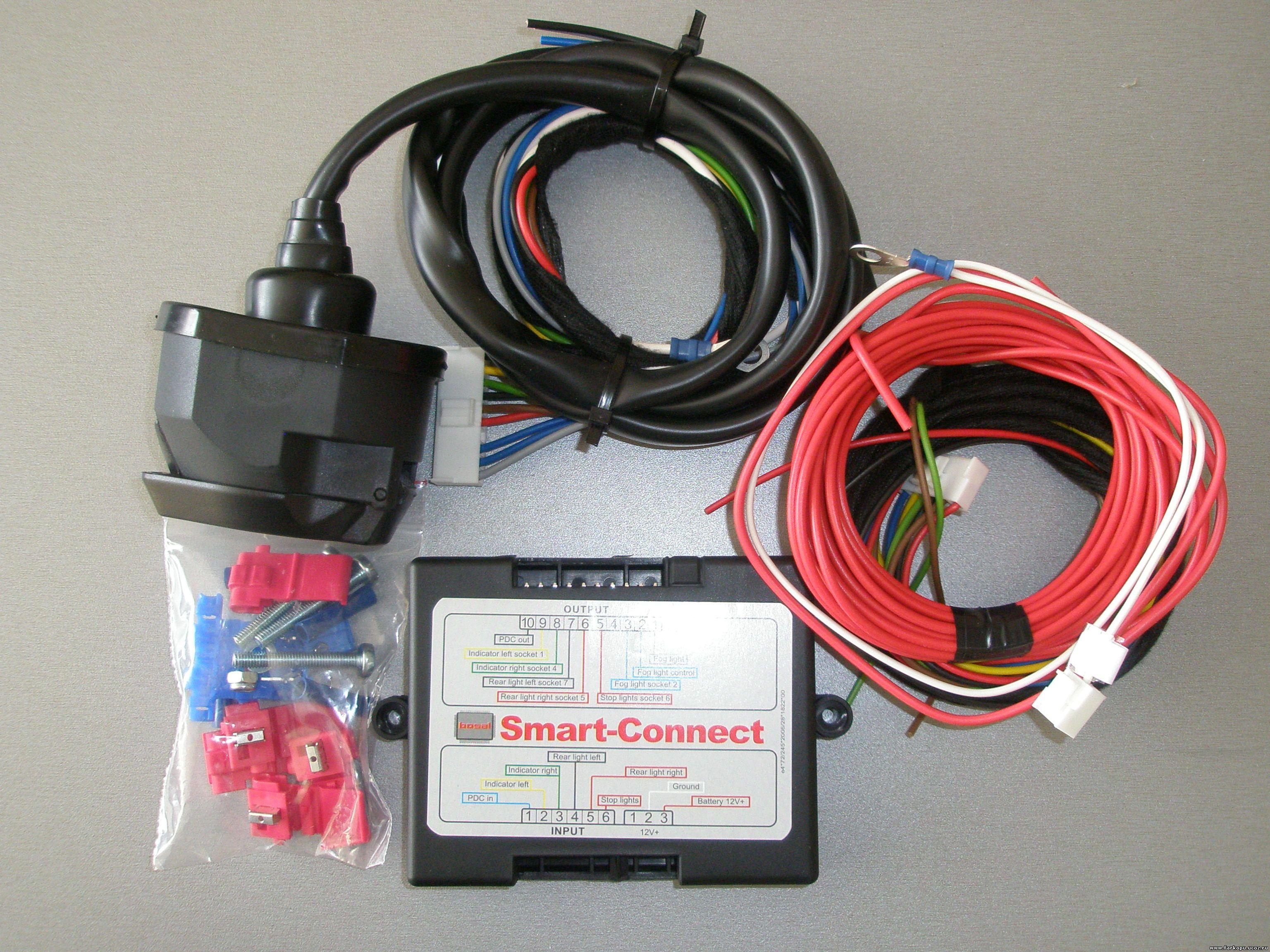 Подключение электропроводки фаркопа ноах видео фото 310-256