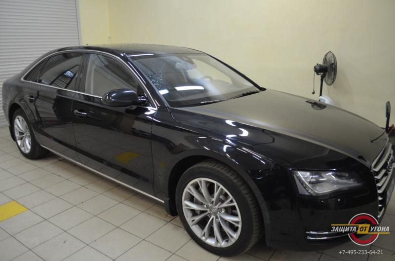 Blackvue550 на Audi A8 2013