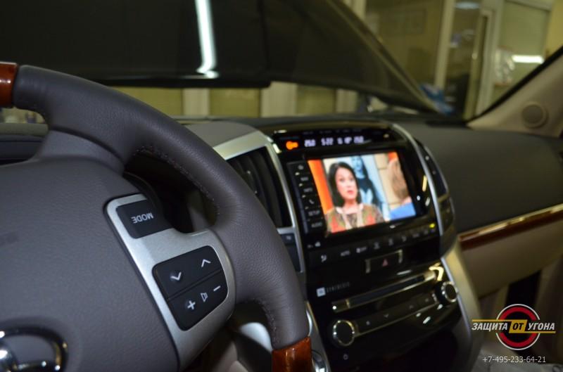 Цифровое тв на Toyota LC200