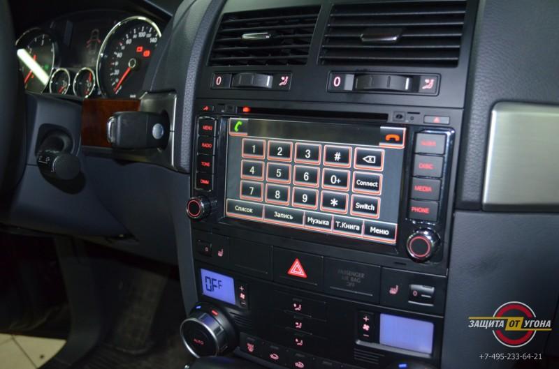 Магнитола Carsys на VW Toureg