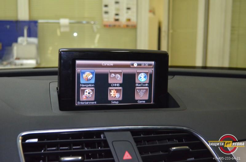 Навигация с пробками для Audi