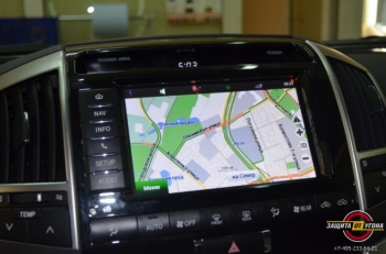 Навигация с пробками для Toyota