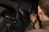 Установка видеорегистратора CarVision Axiom 1100 в Audi Q7