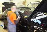 Покрытие передних стекол BMW X4 артемальной пленкой