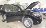 Подмена OBD разъема на Toyota Prado