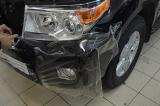 Оклейка защитной пленкой Toyota LC 200