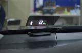 Установка проекции скорости на лобовое стекло на Toyota Camry V50