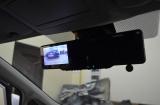 Зеркало заднего вида 4 в 1, камера и парктроники на Nissan Tiida