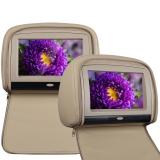 Пара 9-ти дюймовых подголовников с сенсорным экраном и встроенным DVD Envix