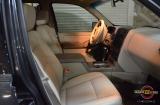 Перетяжка салона эко-кожей Brandy на Ford Explorer