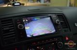 Установка камеры заднего вида на VW Multivan