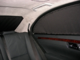 Стандартные двухслойные на задние боковые двери+боковые окна+задняя дверь