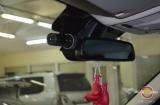 Установка видеорегистратора Blackvue 500 на Rangerover Sport 2013