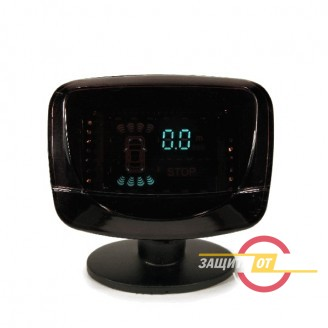 Парковочный радар Silver Star 8 датчиков LCD-089