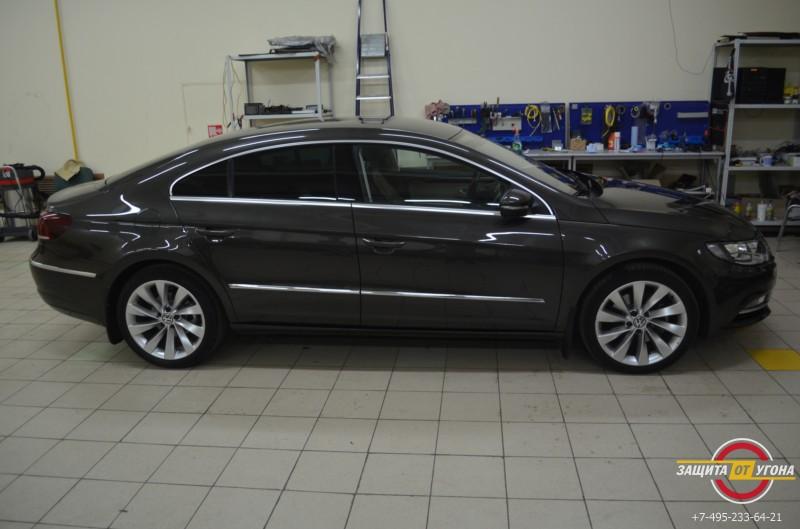 Полировка кузова и нанокерамика на VW CC