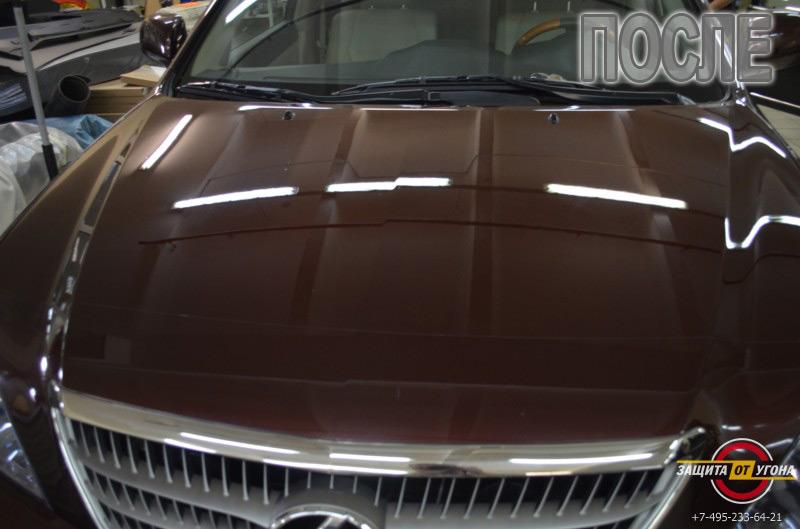 Полировка кузова и обработка жидким стеклом Lexus RX 400h