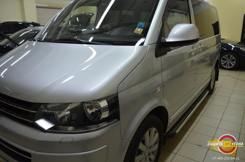 Защитное покрытие Ceramic Pro на VW Multivan