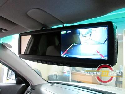 Зеркало заднего вида с двухканальным видеорегистратором AVIS AVS0455DVR