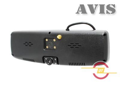 Зеркало заднего вида со встроенным видеорегистратором и GPS навигатором AVIS AVS0490BM