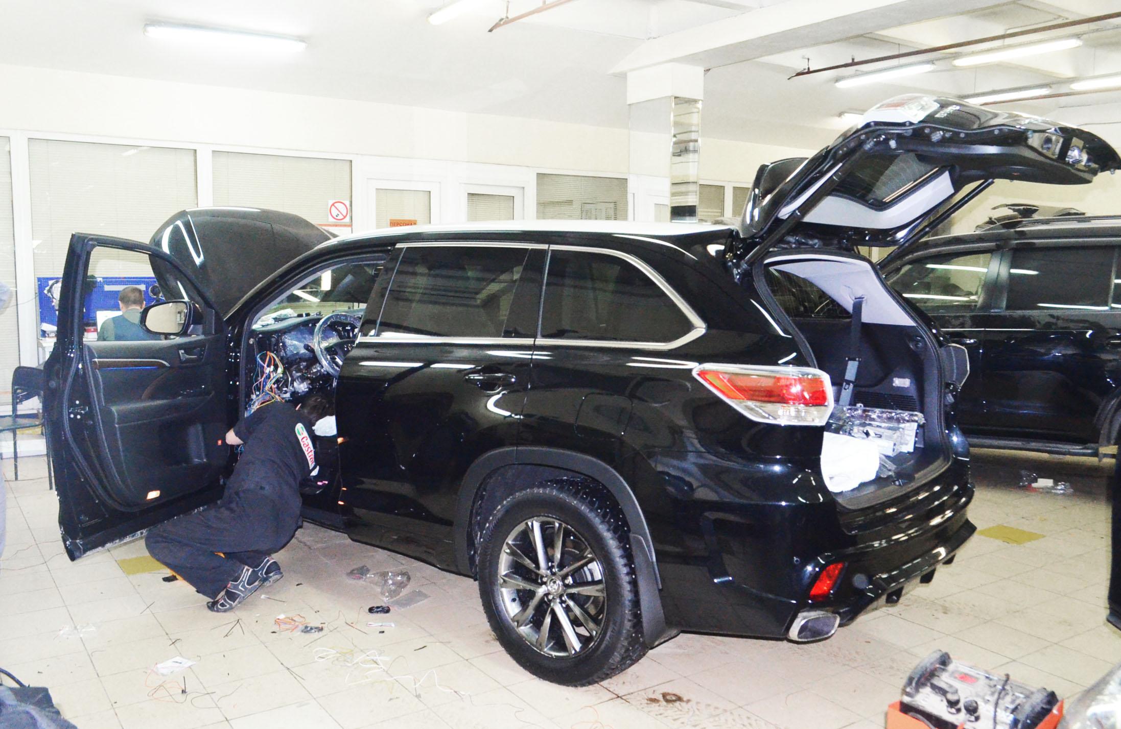 Защита от угона Pandora 3910 для Toyota Highlander