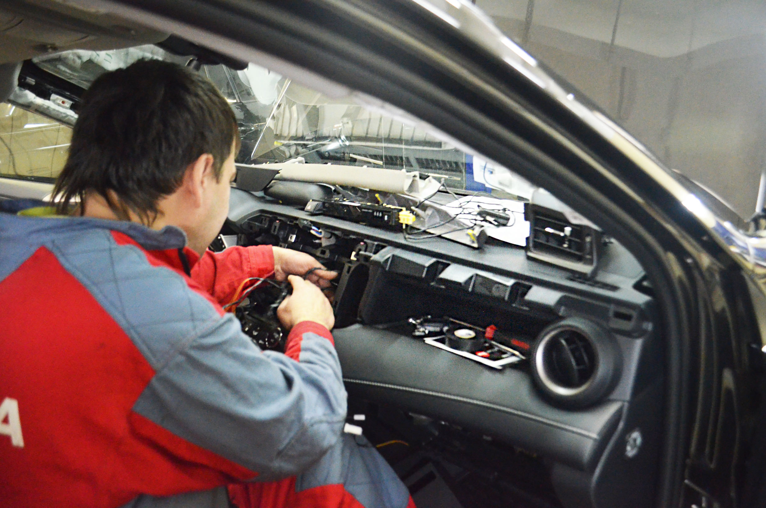 Авторская защита от угона для Toyota Rav 4