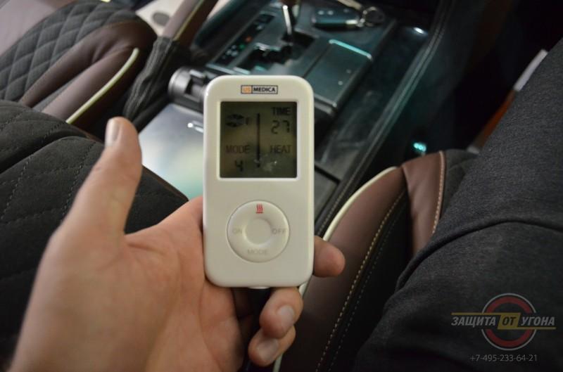 Массаж сидений на Lexus LX 570
