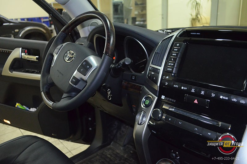 Авторская защита от угона на Toyota LC200