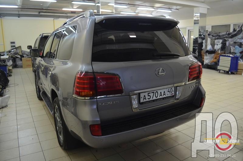 Рестайлинг Lexus LX570