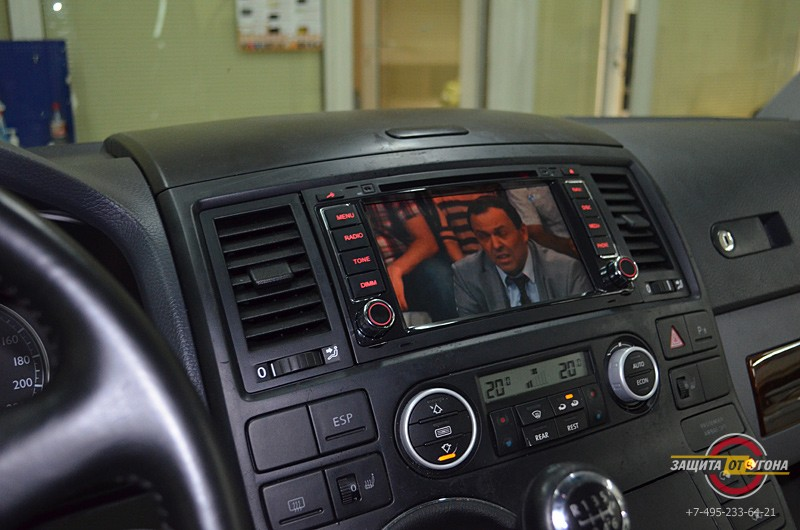 Цифровое ТВ на VW Multivan