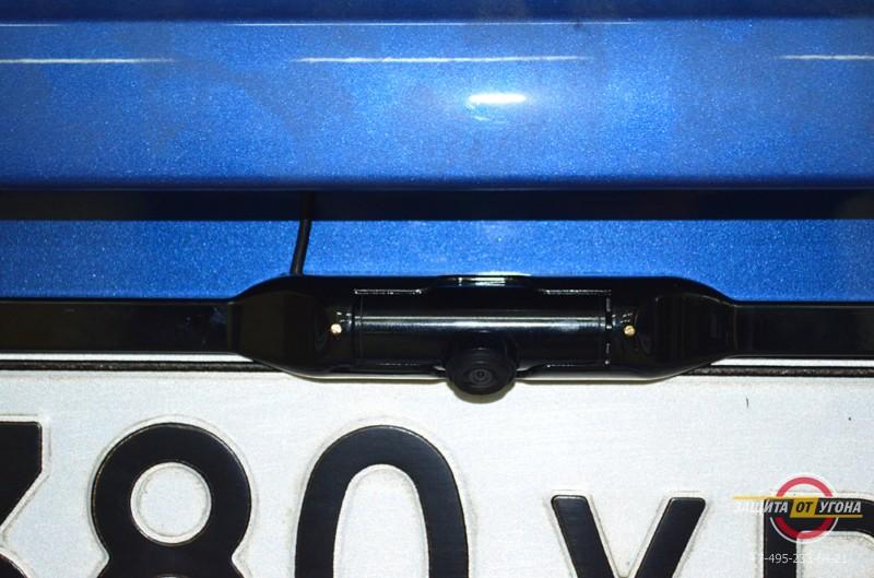 Установка зеркала заднего вида с камерой на Chevrolet Aveo